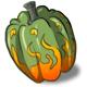 Flaming Pumpkin