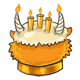 Loket Birthday Cake