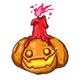 ARHHHH! Pumpkin Candle