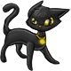 Maevas Black Cat