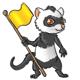 Greys Flag Finding Ferret