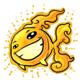 Shining Goldfish