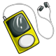 Yellow MP3 Player
