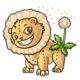 Dandie Lion Plushie