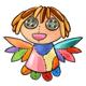 Rag Doll Angel Plushie