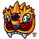 Lion Dancer Mask
