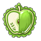 Green Apple Stamp