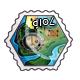 Misprinted Arena Stamp