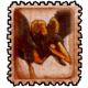 Vintage Corvus Stamp