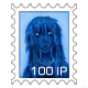 Retro Alice Stamp