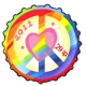 Love and Peace 2011 Stamp