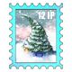 Olemas Tree Stamp