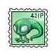 Alien Tadpole Stamp