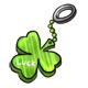 Shamrock Keychain