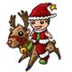 Santa Cowboy Action Figure