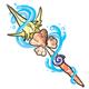 Seashell Trident