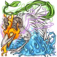 Elemental Corvus Ichumon