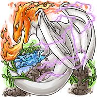 Ichumon Elemental Dragora